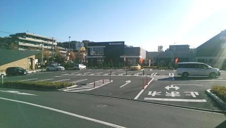 あざみ野ガーデンズP1駐車場|東...